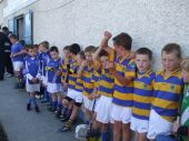 U8 players involved in the Roanmore Charity Blitz
