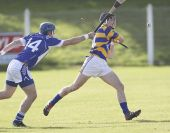 John Power gets his clearance away in the County Senior Hurling Championship Quarter Final v Fourmilewater