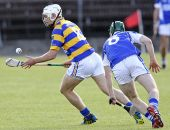 Richie Foley slips his marker in the Senior Hurling Championship Quarter Final clash against Fourmilewater