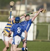 Richie Foley stretches to reach the sliothar in the drawn County Senior Hurling Championship match against Dungarvan